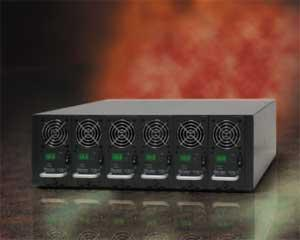 Chroma 67300 series DC Power Supply for LCM Burn-in Applications